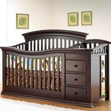 Baby Crib  with changer and  toddler rail  New!!  280 in Oceanside, California
