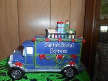 "Santa's Postal Express Vehicle Figurine.  Christmas Home Decor!  4"" h x 6"" w  CUTE in Bellaire, Texas"