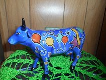 """Westland Gifts COW PARADE Figurine #9178 """"PARTY COW""""! Without box in Bellaire, Texas"""