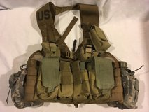 army usmc survival flc lbv fighting load carrier vest prepper coyote / pouches  02389 in Huntington Beach, California