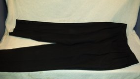 mens tommy hilfiger collection 40x30 black pleated front tuxedo tux slacks pants  02308 in Huntington Beach, California