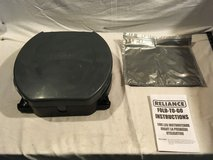new reliance fold to go portable gray black 14 wide military camping toilet  02229 in Huntington Beach, California