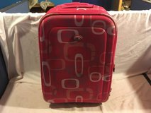 womens tcl casual pink carry handle 16 x 22 x 9 rolling hardcase duffel bag  02281 in Huntington Beach, California