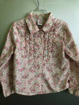 Gymboree size XL 6 girls button down shirt blouse in Chicago, Illinois