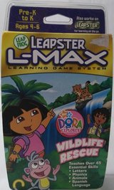 new leapster l-max learning game system dora explorer wildlife rescue leapfrog in Glendale Heights, Illinois