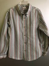 Boys button down shirt Hanna Andersson size 130 7/8 in Lockport, Illinois