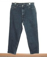 Vitg 90's Levis 550 Relaxed Tapered High Rise Waist Mom Jeans 12 Measures 32x29 in Morris, Illinois