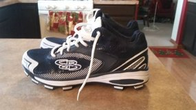 Brand New Low Top Size 10 Boombah Spikes in Plainfield, Illinois