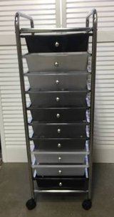 Seville Classics 10-Drawer Organizer Cart in Chicago, Illinois