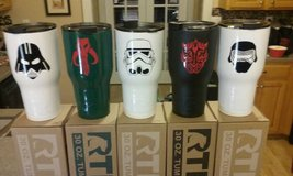 Rtic 30oz Star Wars set of 5 Tumblers in Byron, Georgia