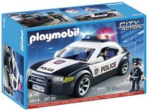 New! PLAYMOBIL Police Car / Cruiser 30pc Set in Orland Park, Illinois