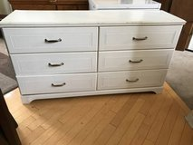 6 Drawer White Dresser in Joliet, Illinois