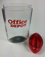 Office Depot Plastic Desk Office Pencil Pen Holder Organizer Container with Lid in Sugar Grove, Illinois