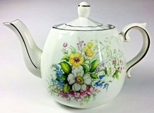 Wood And Sons Ellgreave Ironstone Teapot With Gold Gilding - England in Naperville, Illinois