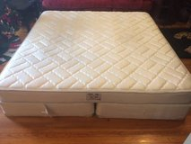 Sealy king mattress with box spring in Joliet, Illinois