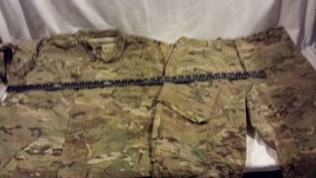 medium short army combat deployment multicam camouflage jacket / trousers  02466 in Huntington Beach, California