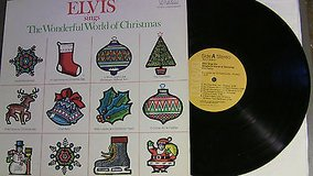 elvis presley sings the wonderful world of christmas lp anl1-1936 in Elgin, Illinois