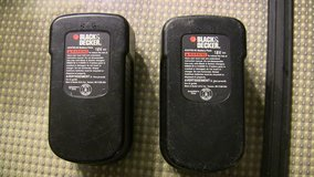 2 black & decker hpb18-ope 18 v battery packs for parts or rebuilding in Palatine, Illinois