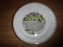 Apple Pie Recipe Pie Plate Royal China in Tomball, Texas