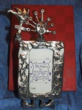 Pewter Folk Art Photo Frame ( 4 Available  $5 each) in St. Charles, Illinois