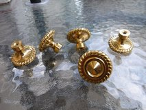Dresser Drawer Cabinet Knobs Gold Tone in CyFair, Texas