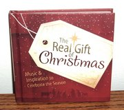 NEW The Real Gift of Christmas Music Inspiration to Celebrate The Season Book CD Set in Joliet, Illinois