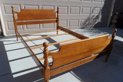 Solid Maple Wood Bed Frame in Fairfield, California