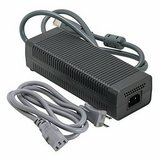 Microsoft Xbox 360 203W 100-127V Power Supply w/Power Cord in Watertown, New York