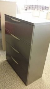 Office Furniture-4 Drawer Lateral File in Tacoma, Washington