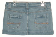 American Eagle Outfitters Double-Button Waist Denim Jean Skirt Womens 10 in Morris, Illinois