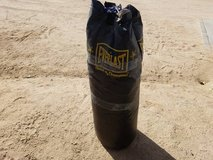 Everlast heavy bag in 29 Palms, California