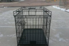 Dog cage secure medal cage in Fort Carson, Colorado