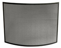 UniFlame Curved Single Panel Steel Fireplace Screen - New in Shorewood, Illinois