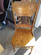 Windsor Country Style Dining CHAIR Solid Wood Spindles Carved in Roseville, California