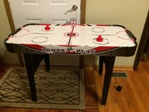 Power play air hockey table in New Lenox, Illinois
