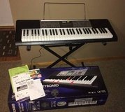 Casio keyboard with stand in New Lenox, Illinois
