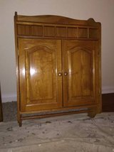 Hanging Oak Wall Cabinet in Orland Park, Illinois
