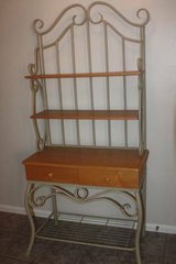 Large Two Drawer Bakers Rack in Kingwood, Texas