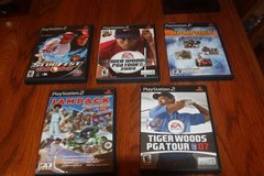 Choice of Five (5) PS2 Games Complete $10.00 Each in Kingwood, Texas