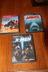 Choice of Three (3) PS2 Games Complete $10.00 Each in Kingwood, Texas