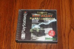PS1 Red Allert Retaliation Command & Conquer Complete Black Label in Kingwood, Texas