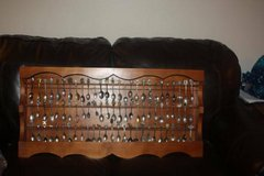 Vintage Hand Crafted Souvenir / Collector Spoon Rack in Kingwood, Texas