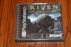 PS1 Riven The Sequel to Mist Complet Black Label in Kingwood, Texas