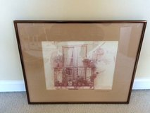 Vintage Italian Framed Photograph in Glendale Heights, Illinois