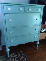 Tall Five Drawer Dresser in Orland Park, Illinois