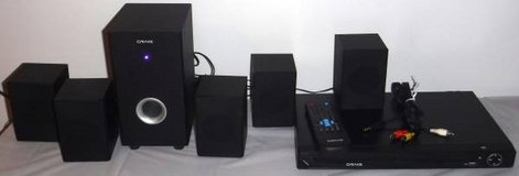 Craig  5.1 Channel Home Theater Surround Sound System w/ DVD Player / remote in Chicago, Illinois