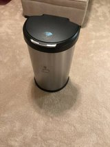simplehuman Semi-Round Step Trash Can with Liner Rim, Stainless Steel in The Woodlands, Texas