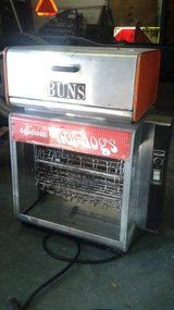 Star Commercial Rotisserie Delicious Hot Dogs Machine With Bun Warmer in The Woodlands, Texas