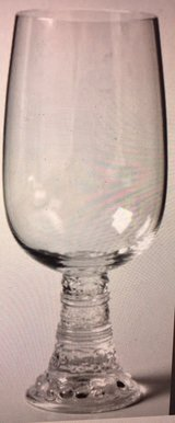 7 Crystal Bacchus iced tea/water goblet by Rosenthal Thomas, Germany 1970-1980s in Fairfax, Virginia