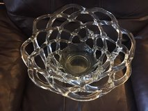 Ornate Glass Bowl Centerpiece in Fairfax, Virginia